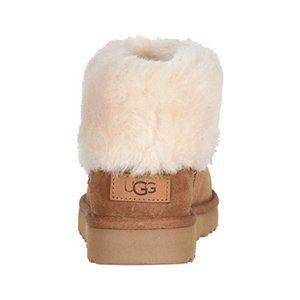 UGG Classic Chestnut Mini Fluff Booties NIB
